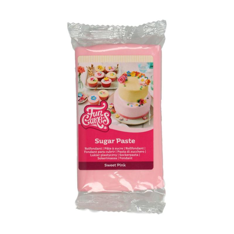 Sweet Pink Funcakes Roze- - 250 Gram