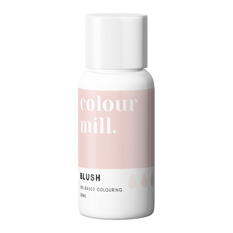 BLUSH Colour Mill oil based food colouring