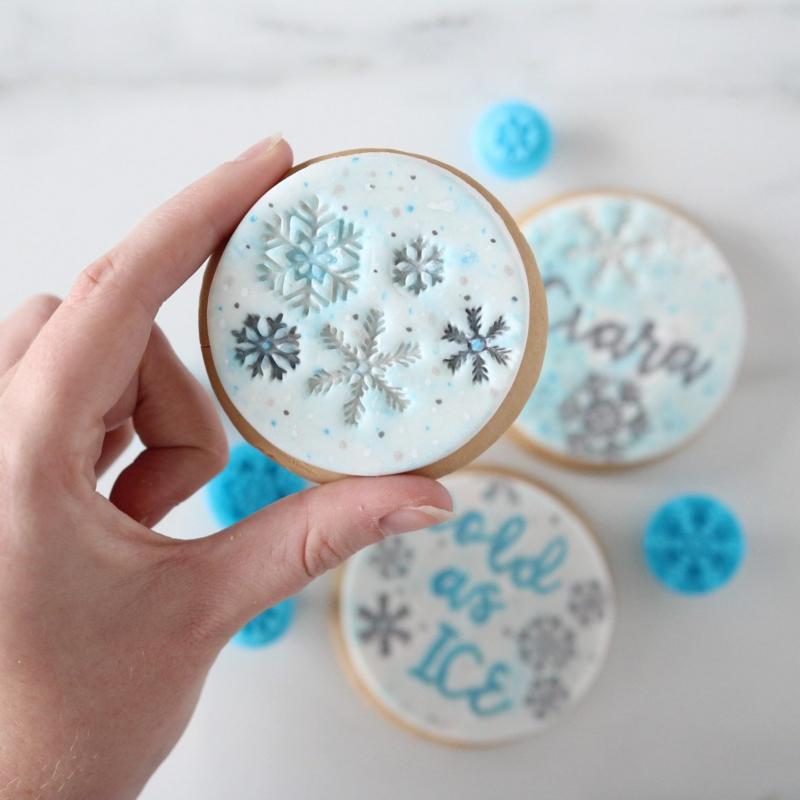 Mini Snowflakes Embosserset SweetSTamp