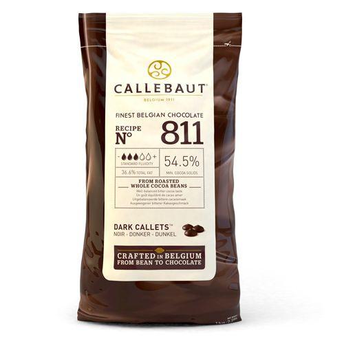 Callebaut Puur smelt chocolade callets  1 kg