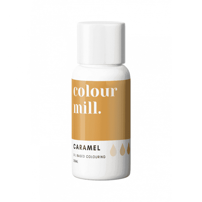CARAMEL Colour Mill oil based food colouring