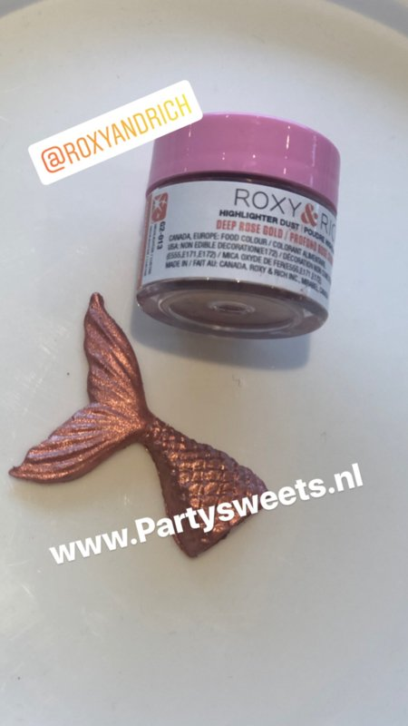 Highlighter dust DEEP ROSE GOLD Roxy and Rich