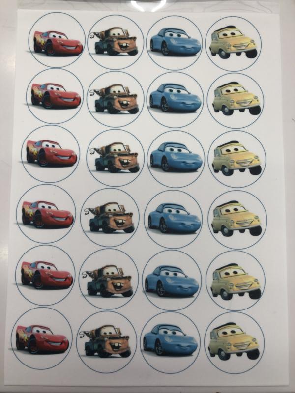 Cars  Eetbare print