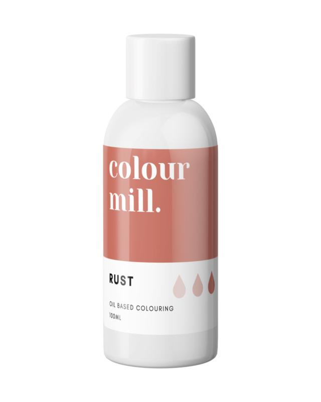 100 ml RUST Desert RangeColour Mill oil based food coloring