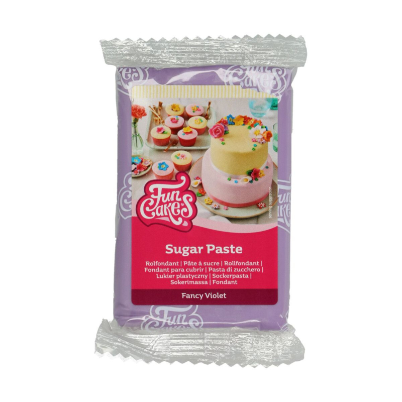 Paars / Fancy Violet Funcakes Rolfondant