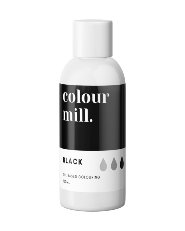 100 ml BLACK Colour Mill oil based food colouring