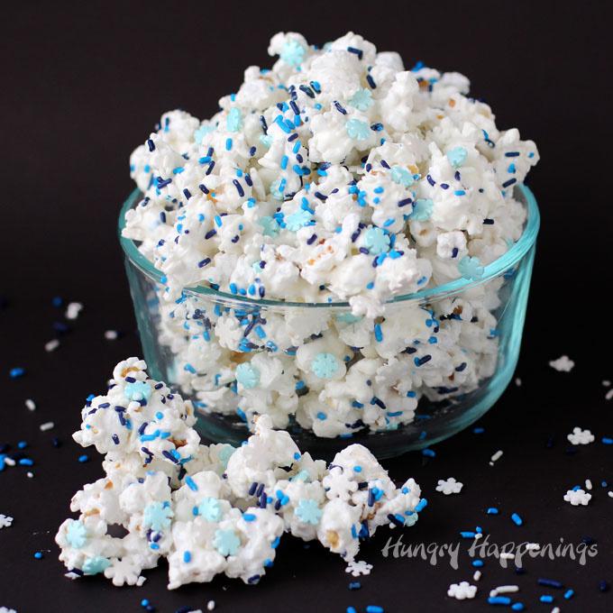 Blauwe BakVaste Sprinkles / jimmies voor Funfetti Cake