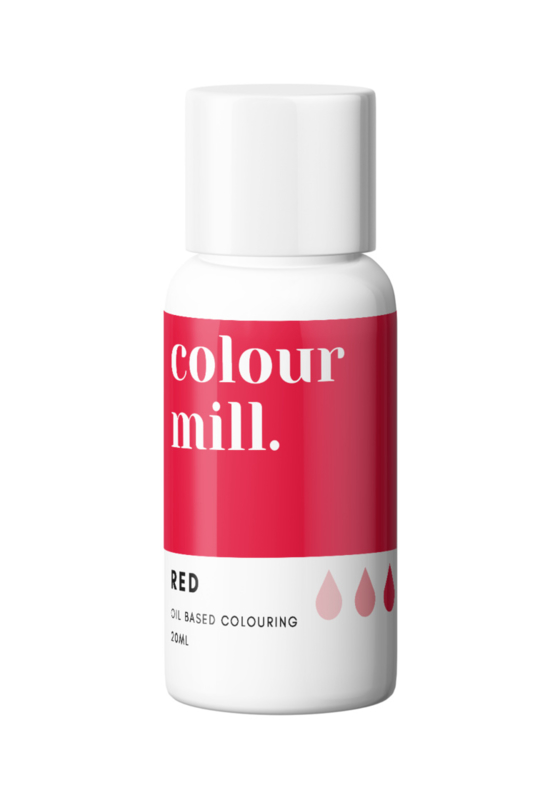 RED  Colour Mill oil based food coloring