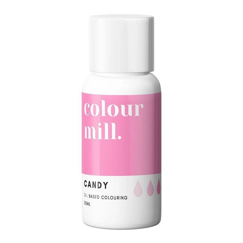 Candy PINK Colour Mill oil based food colouring