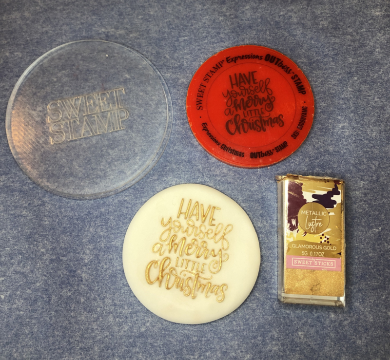 Have yourself a merry Little Christmas- Outboss- Christmas-Sweetstamp