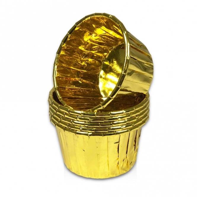 CHAMPAGNE GOLD Foil baking case 25/pk