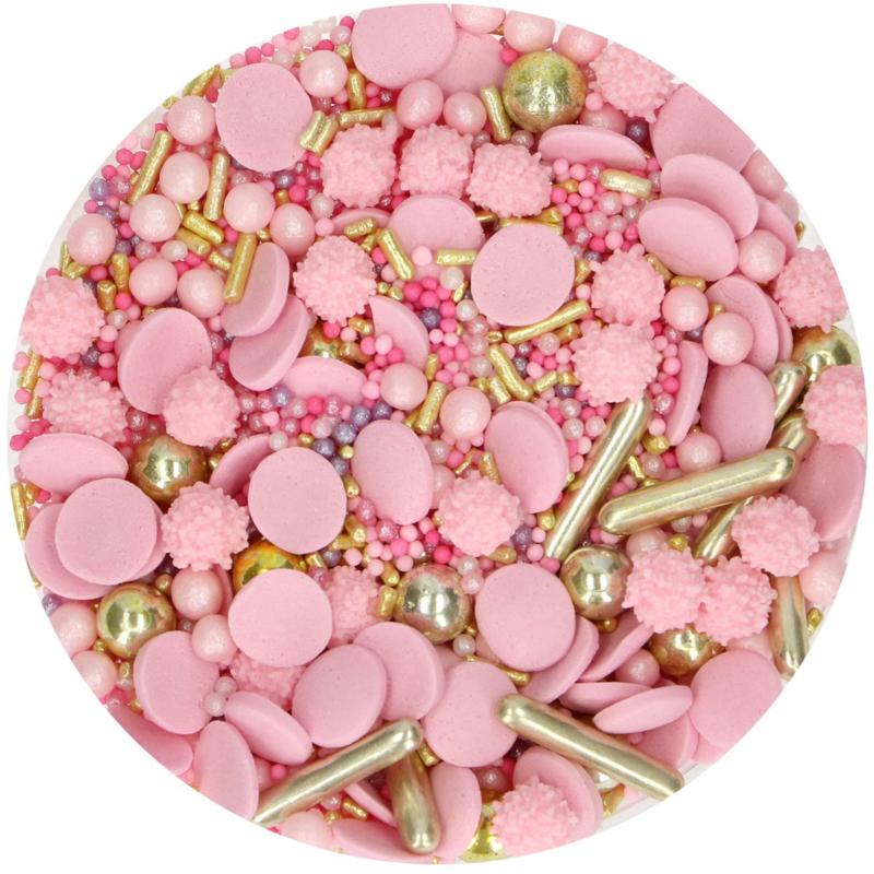 Glamour Pink sprinkle medley
