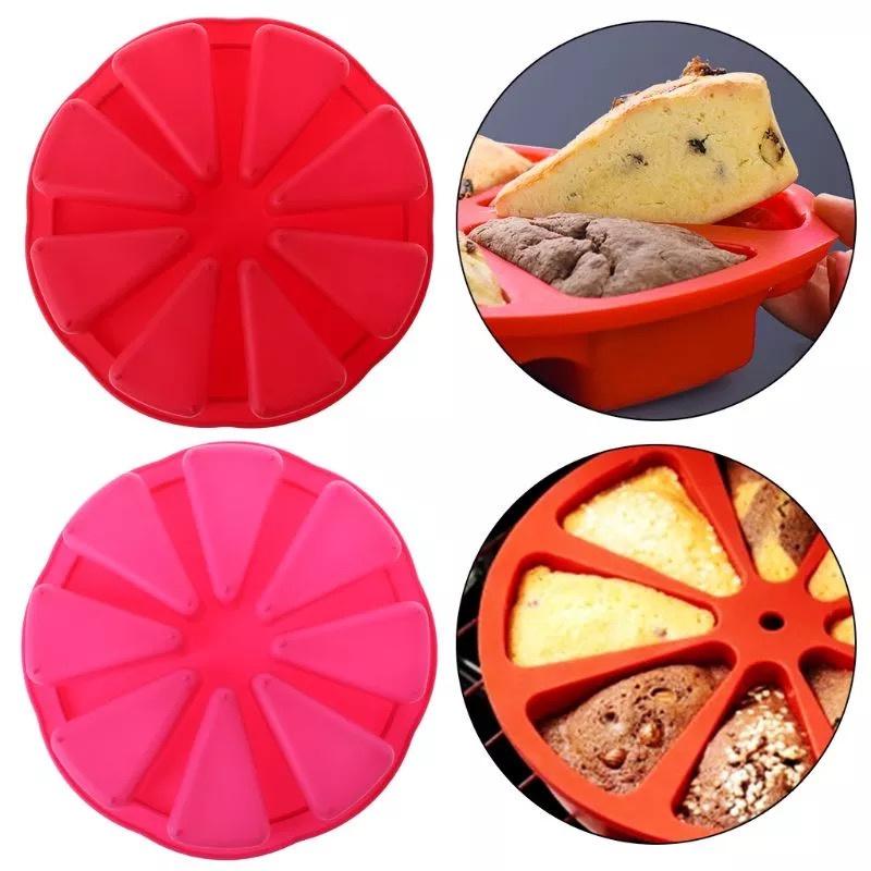 CakePizza taart bakvorm silicone