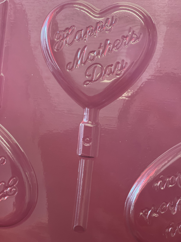 Happy Mother's Day  chocolade lolie mal