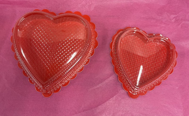 Small Hartvormige doosje / chocoalde mal
