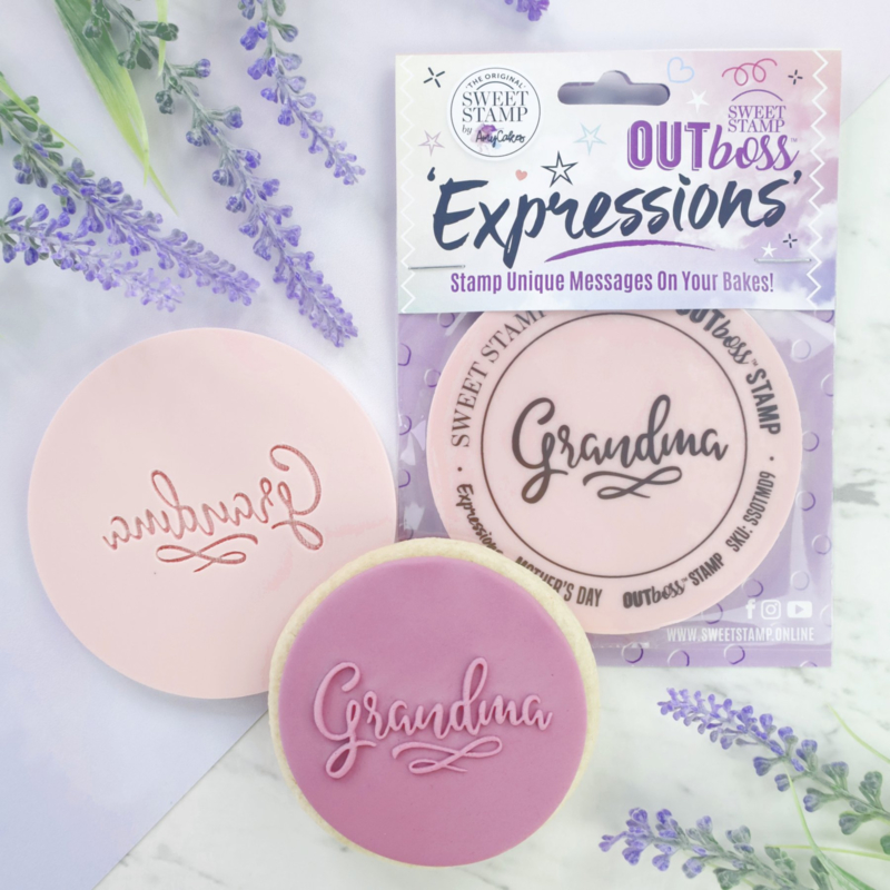 Grandma Sweetstamp OUTboss Expressions Regular Size