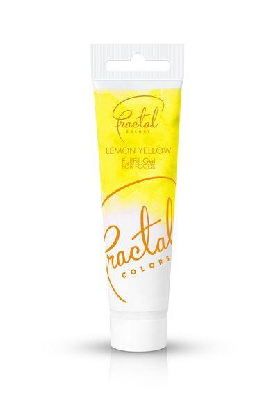 Lemon Yellow Fractal Colours Fullfill gel ook geschikt voor chocolade