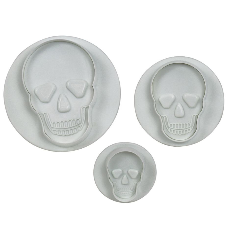 skull plunger cutterset of 3 PME