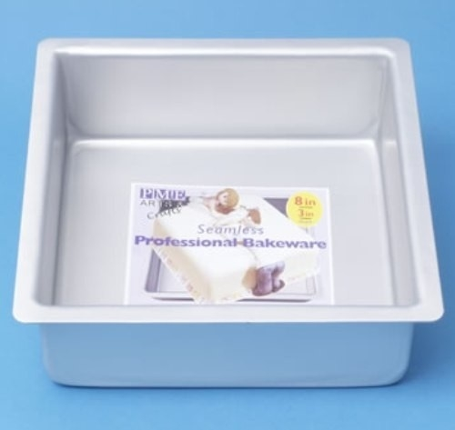 20x20x10cm PME Extra Deep Square Pan / Extra hoge bakvorm vierkant