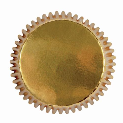 HOM Mini Cupcake Baking Cups goud 36 /Pk