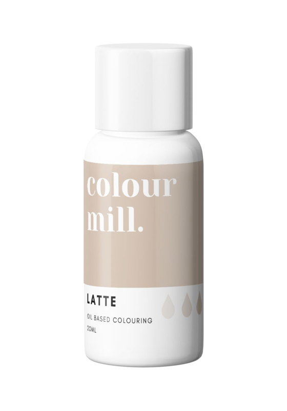 20 ml LATTE Desert RangeColour Mill  oil based colouring
