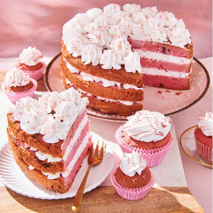 Ruby cake, Bakmix Funcakes special edition