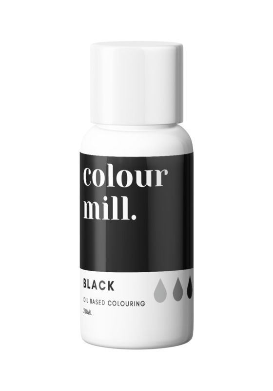 BLACK Colour Mill oil based food colouring