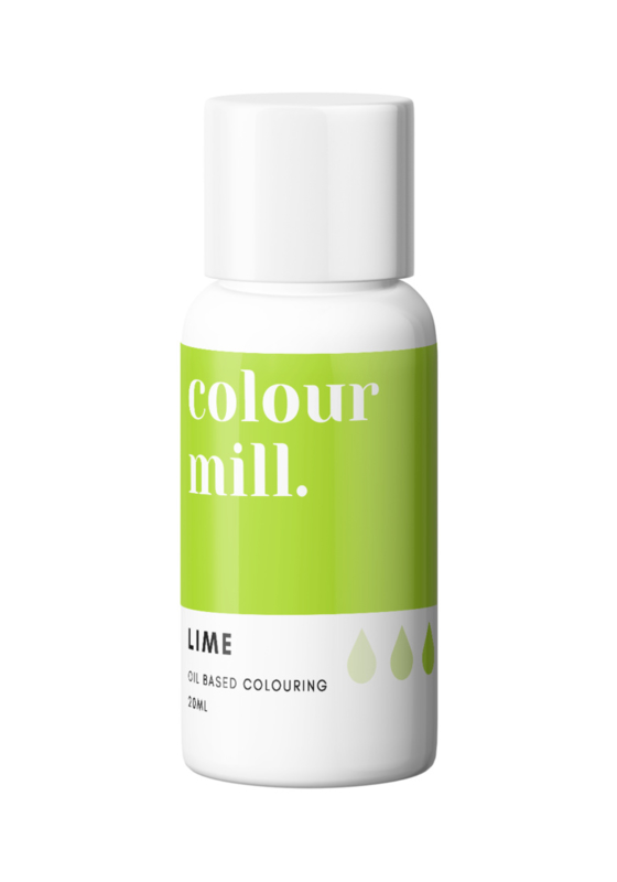 Lime Colour Mill oil based food colouring