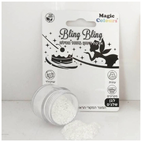 snowwhite  bling bling eetbare glitters magic colours