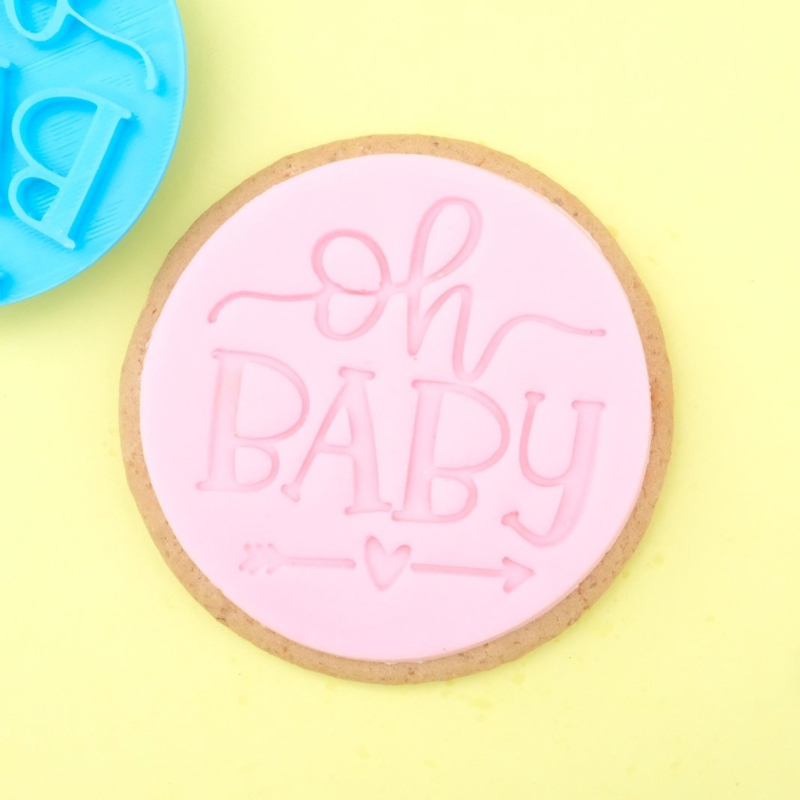 OH Baby Cookie/ Cupcake embosser