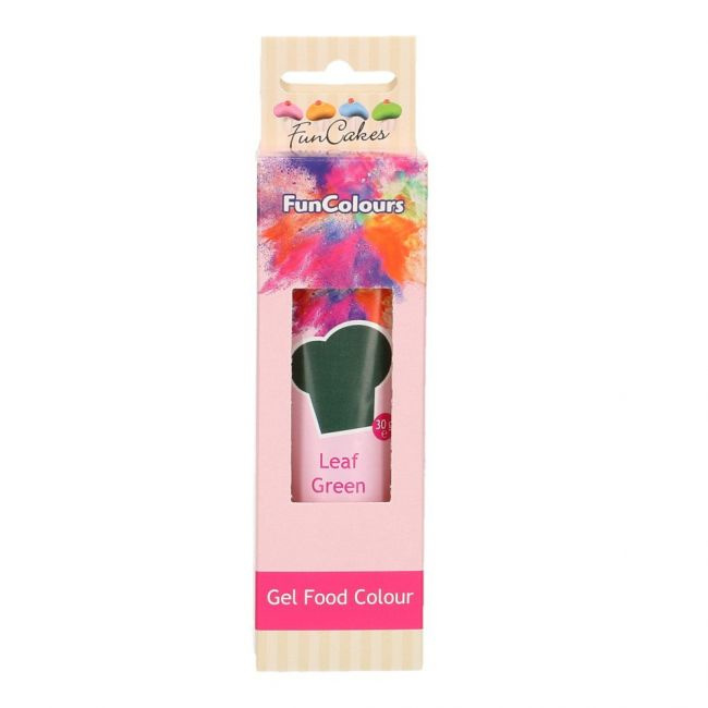 LEAF GREEN Funcolour concentrated color Gel Funcakes