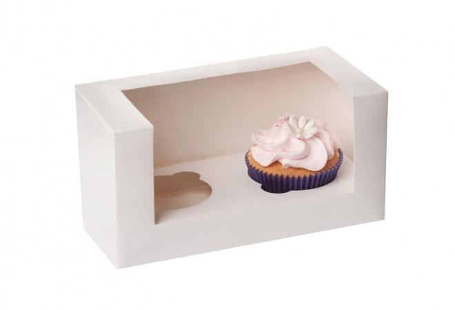 cupcake doosje voor 2 cupcakes