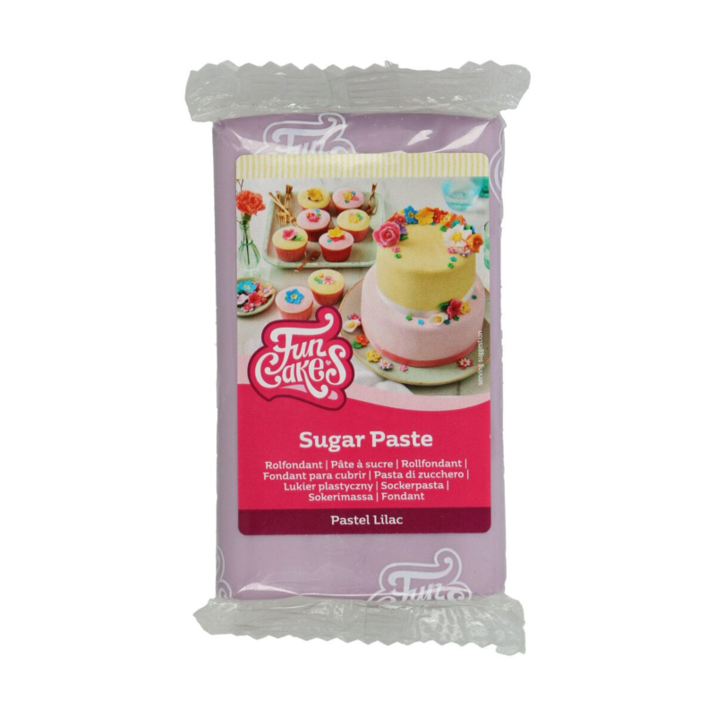 Pastel Lilac Funcakes Rolfondant Lila