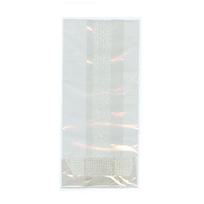 Folie zakjes plat 12 x 17,5 cm  25/pk