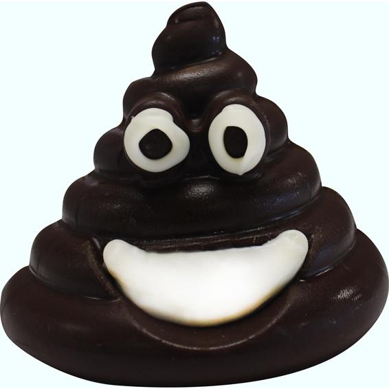 POOP Emoji mal voor chocolade