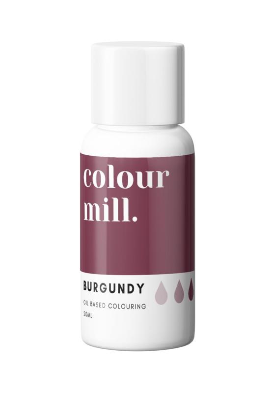 20 ml BURGUNDY  Desert RangeColour Mill oil based food coloring