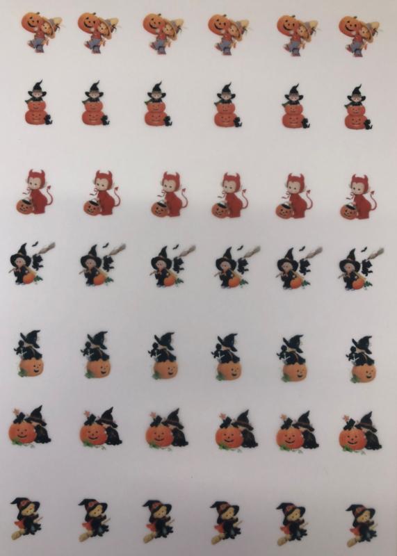 Sweet Pumpkin  Meringue stempel sheet / Sugar stamp