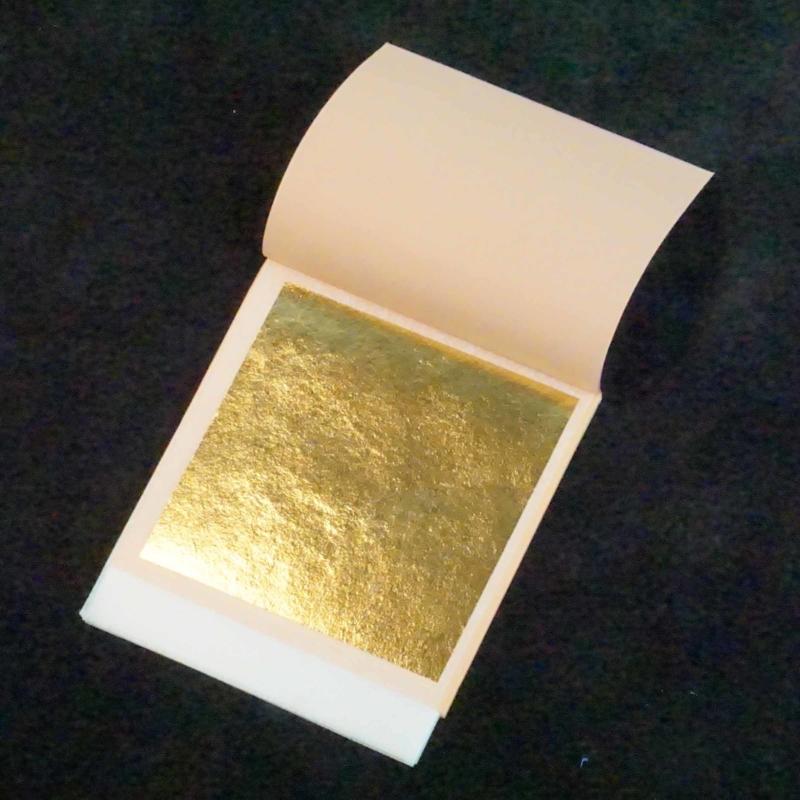Gold Leaf Transfer  Sheet Sugarflair 24 karaat