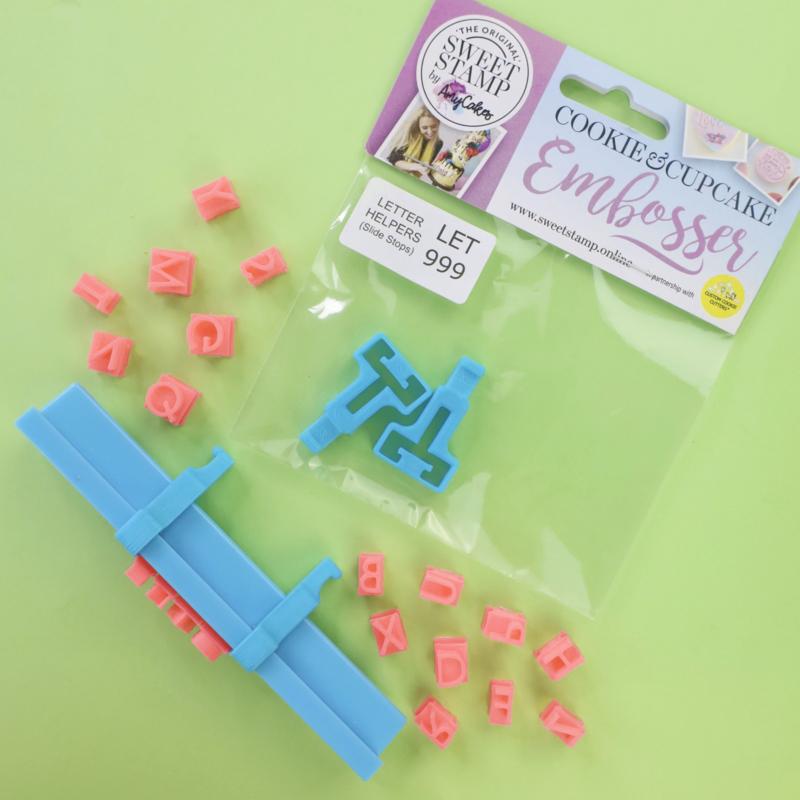 Mini Message Letter Helpers  aanvullende set voor de Sweet Stamp mini Message