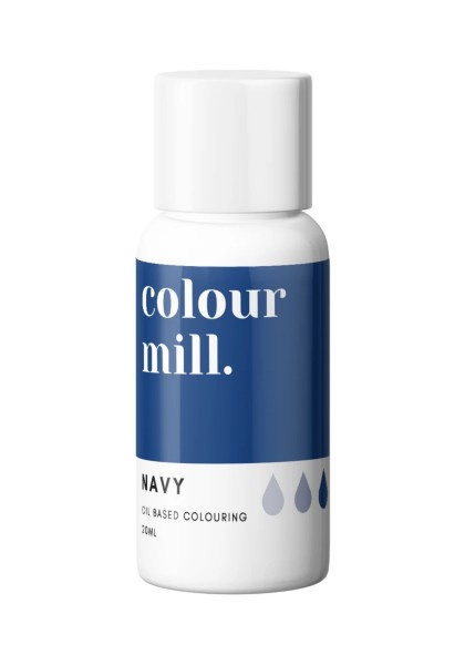 NAVY BLUE Colour Mill oil based food colouring