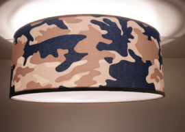 Army zand + blauw