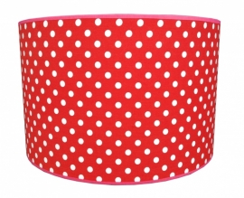 red / white dotted medium