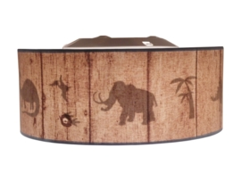 Dinosaurs Silhouette ceiling lamp