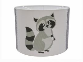 Sweet raccoon grijs