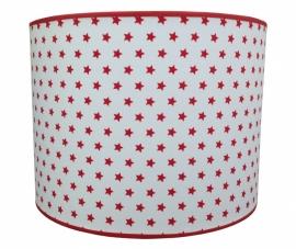 white - red stars