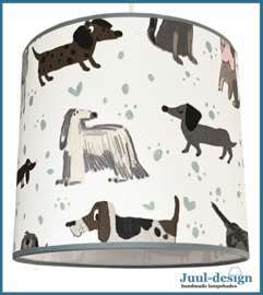 I love dogs lampenkap  Ø 25 cm