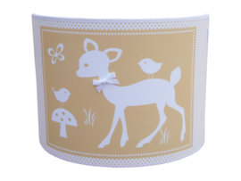 best forest friends ocre wall-lamp