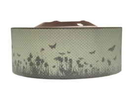 Butterfly silhouette ceiling lamp