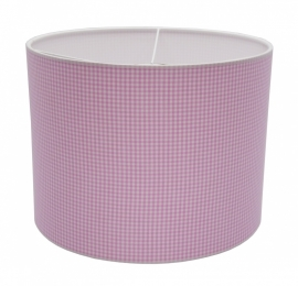 pink / white checkered small