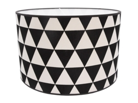 Geometric black - white